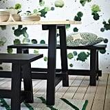 Sällskap Dining Table ($249) and Bench ($129)