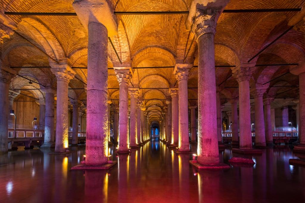 Basilica Cistern, Turkey