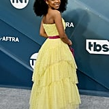 Priah Ferguson at the 2020 SAG Awards