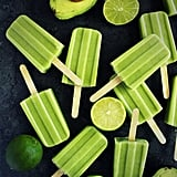 Avocado, Lime, and Coconut Popsicles