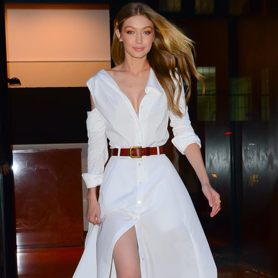 Gigi Hadid Wearing All White