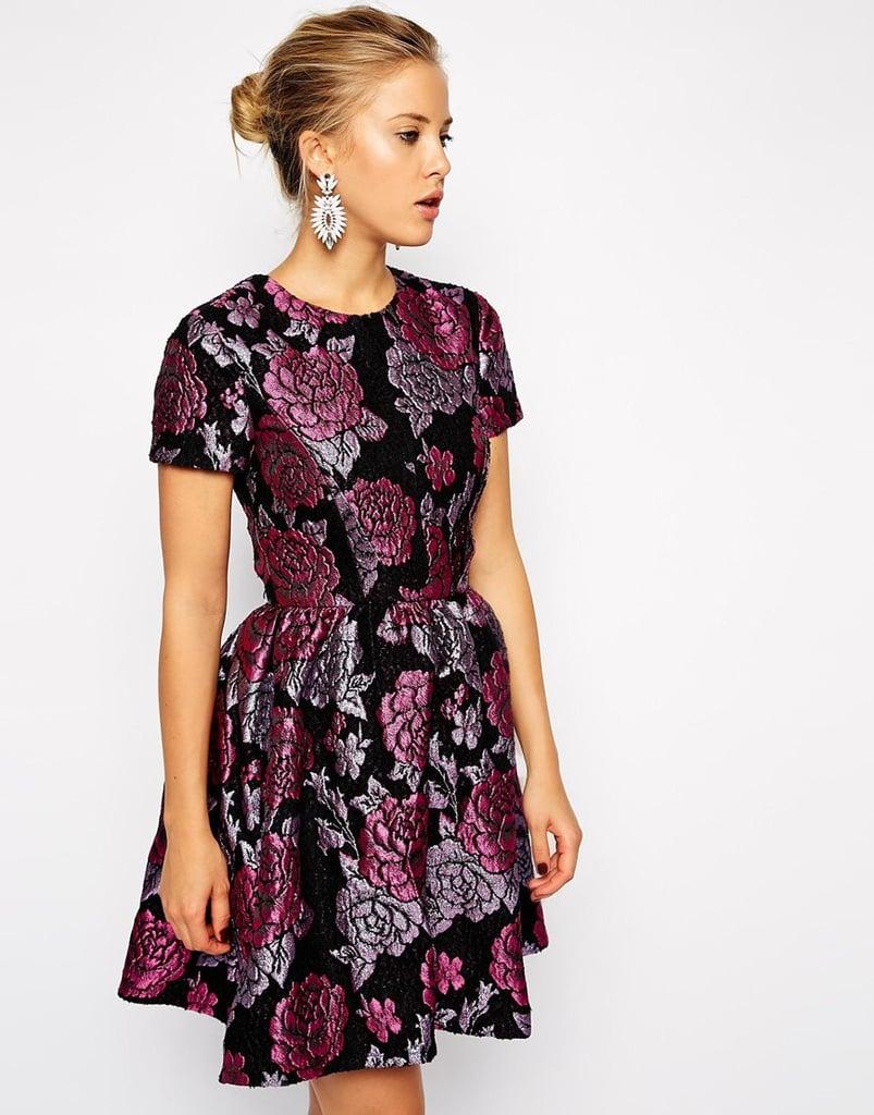 ASOS Structured Dolly Skater Dress