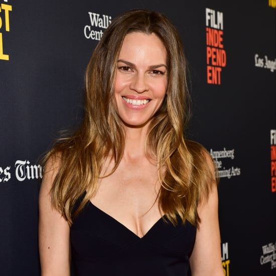 Hilary Swank Push-Ups
