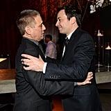 Jimmy Fallon greeted Tony Danza.