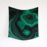 Trade in your boring solid-color scarf for this richly designed, handmade Malachite Silk Scarf ($120) from Threadbare Supply Co. The goes-with-anything pattern, which was taken from a real malachite gemstone, will brighten up any Winter wardrobe. — Maria Mercedes Lara, associate editor
