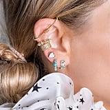 Melinda Maria Pave Earbar Earring
