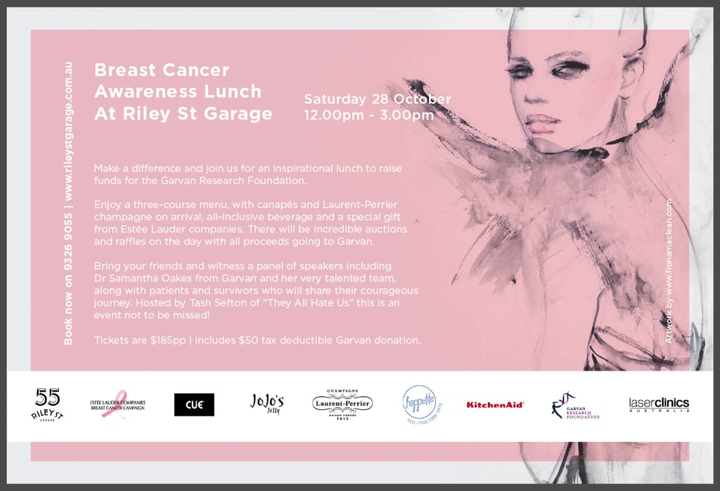 Cue Breast Cancer Fundraising Lunch