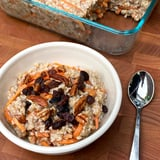 Vegan Sugar-Free Carrot Cake Steel-Cut Oatmeal Meal Prep