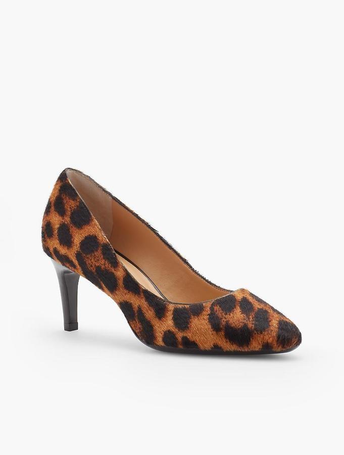 Our Pick: Talbots Tessa Leopard Pumps