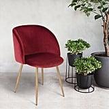The Under-$100 Velvet Chair Set That's Going Absolutely Freaking Viral