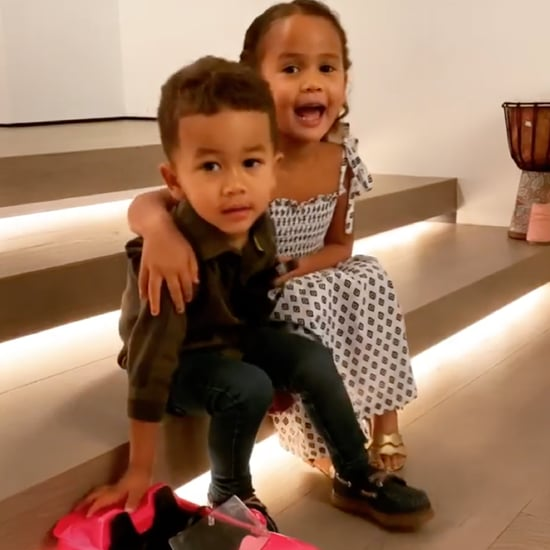 Chrissy Teigen and John Legend's Anniversary Gifts From Kids