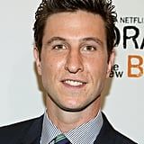 Here he is at the OITNB premiere, looking the opposite of creepy.
