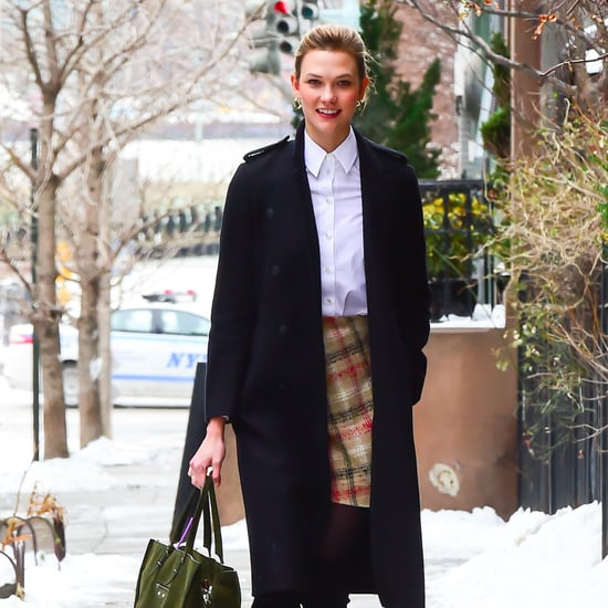 Models Winter Street Style Outfits