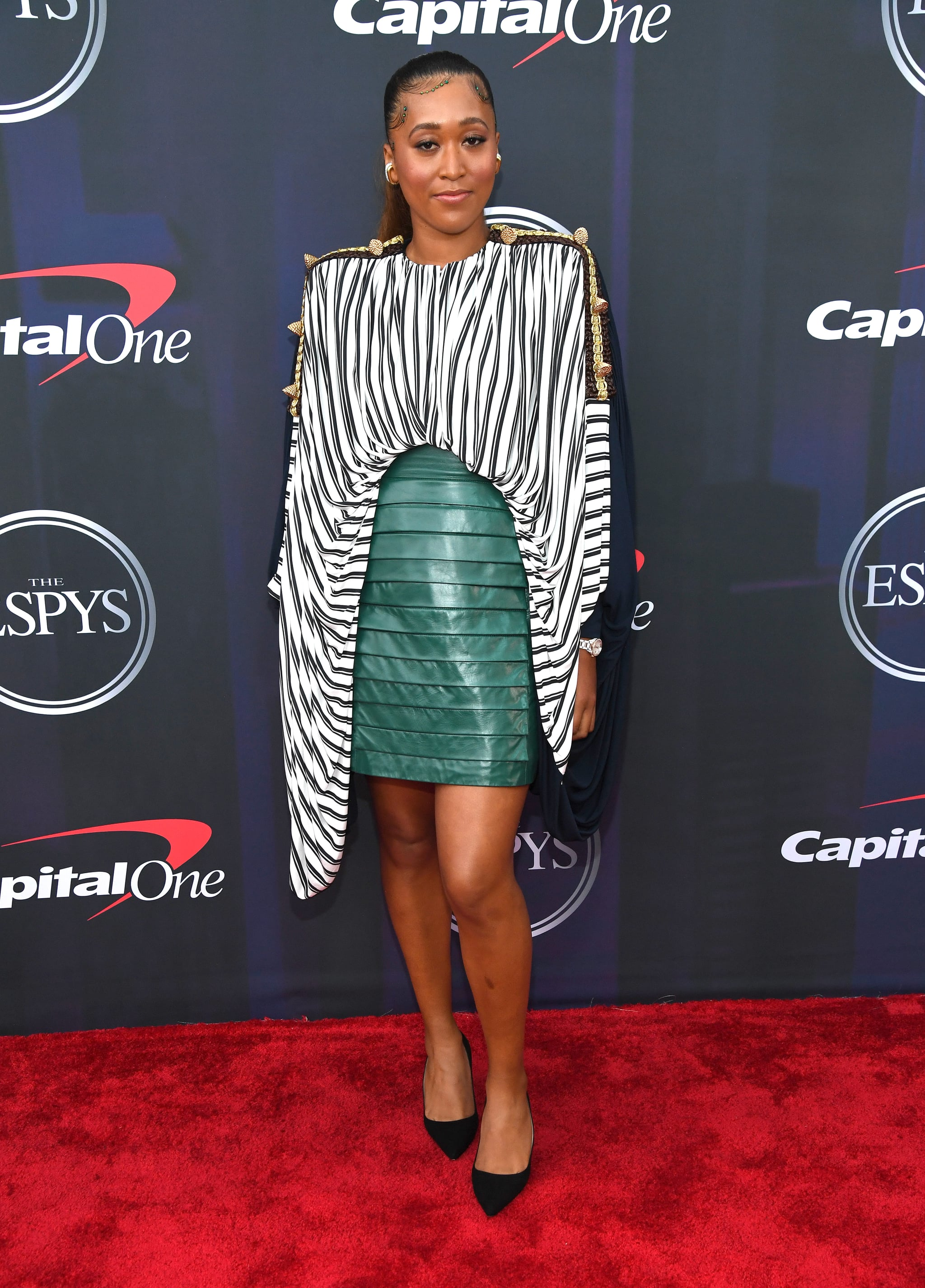 NEW YORK, NEW YORK - JULY 10:  Naomi Osaka attends the 2021 ESPY Awards at Rooftop At Pier 17 on July 10, 2021 in New York City.  (Photo by Kevin Mazur/Getty Images)