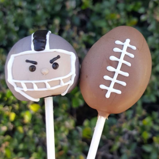 Super Bowl Cake Pops