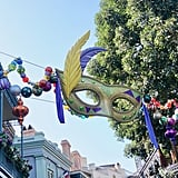 New Orleans Square is even more magical this time of year!