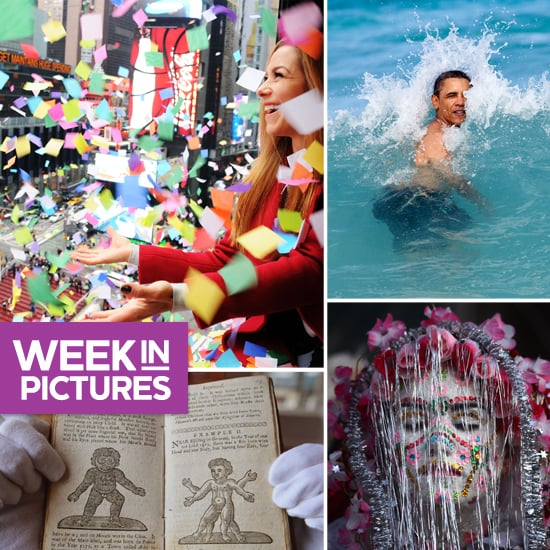 The World Welcomes 2013, Obama Makes a Splash, and a Banned Book Makes Headlines