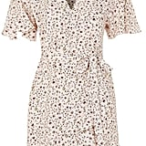 For something a little more flowery, try this Topshop Daisy Print Ruffle Tea Dress ($90).