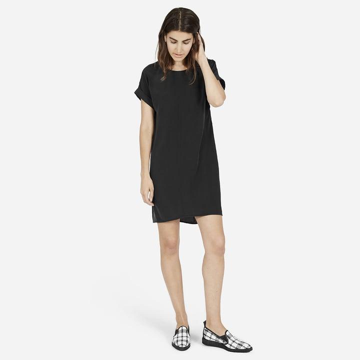 The Silk Short-Sleeve Dress ($98)
