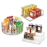 iDesign Plastic Cabinet Organiser Collection