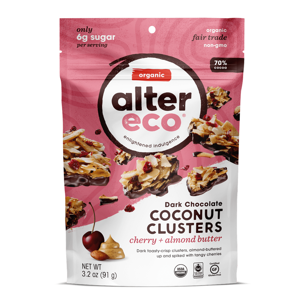 Alter Eco Dark Chocolate Coconut Clusters