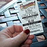Make sure to get a Fantasmic fastpass.