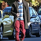 Hayden Christensen stepped out in Sherman Oaks in LA on Saturday.