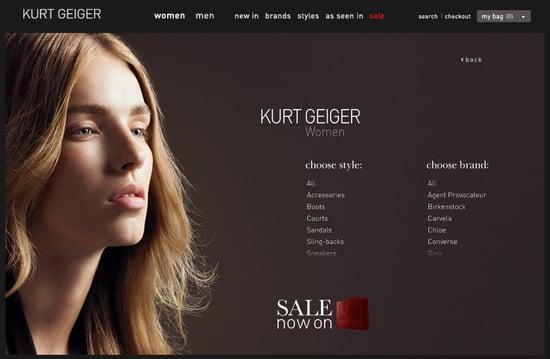 Fab Site: KurtGeiger.com
