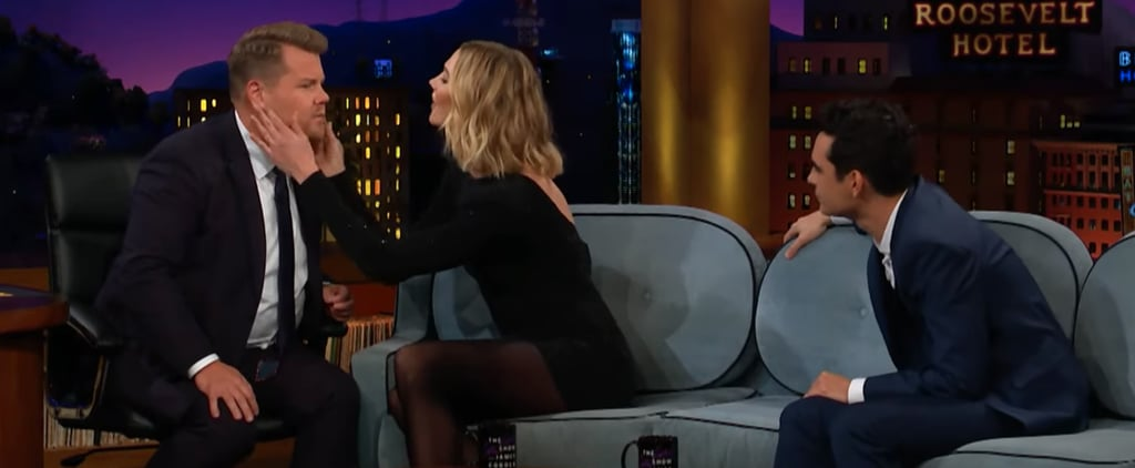 Karlie Kloss Teaspoon Eyelash Trick Video on James Corden