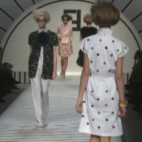 Fendi Spring 2012 Runway Video