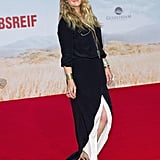 At her Blended premiere in Berlin on Monday, Drew Barrymore debuted her postbaby body just a month after giving birth.