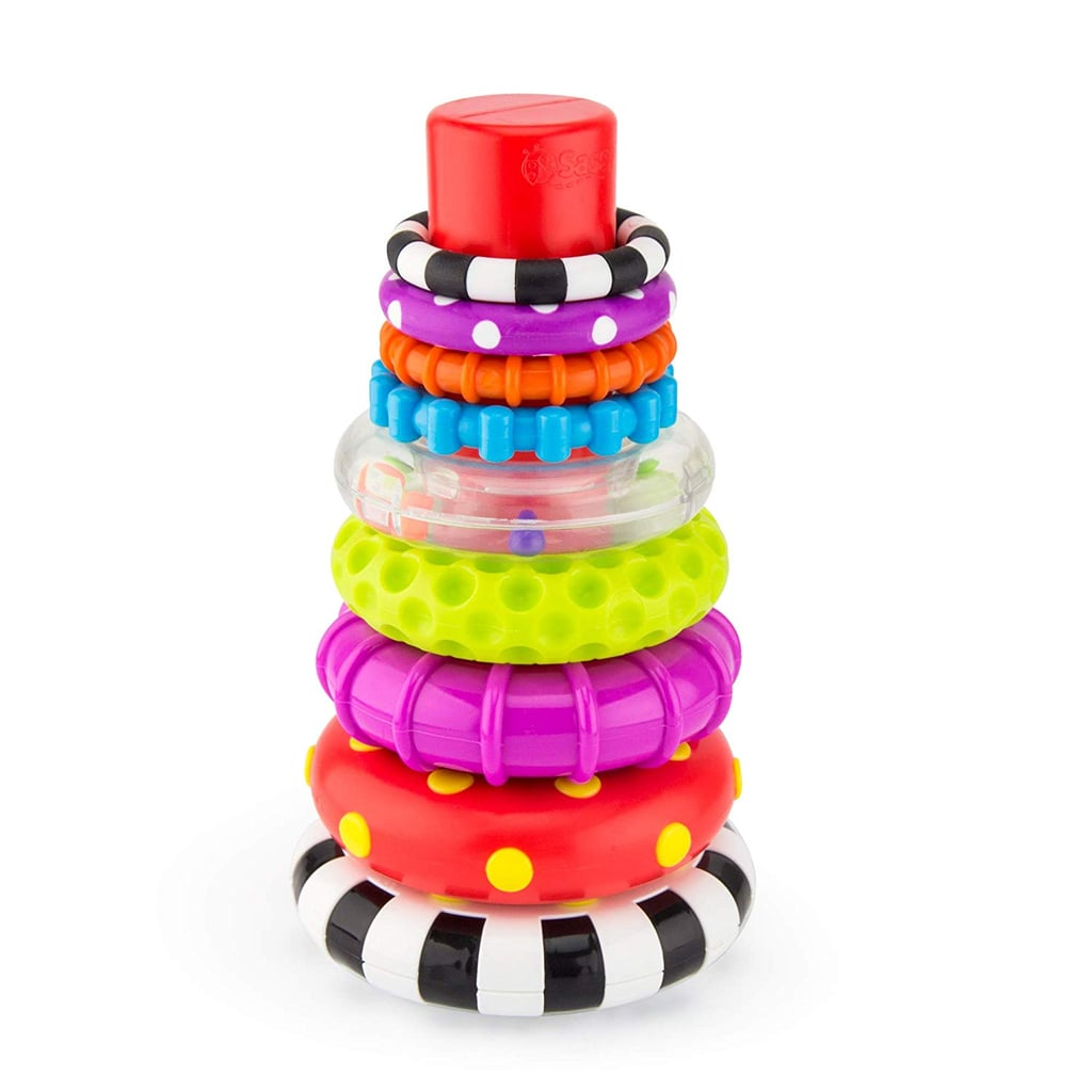 Best Stem Toys 2020.Sassy Stacks Of Circles Stacking Ring Stem Learning Toy