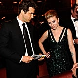 Ryan Reynolds and Scarlett Johansson in 2010