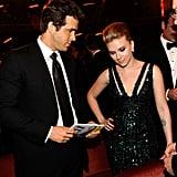 Ryan Reynolds and Scarlett Johansson in 2010