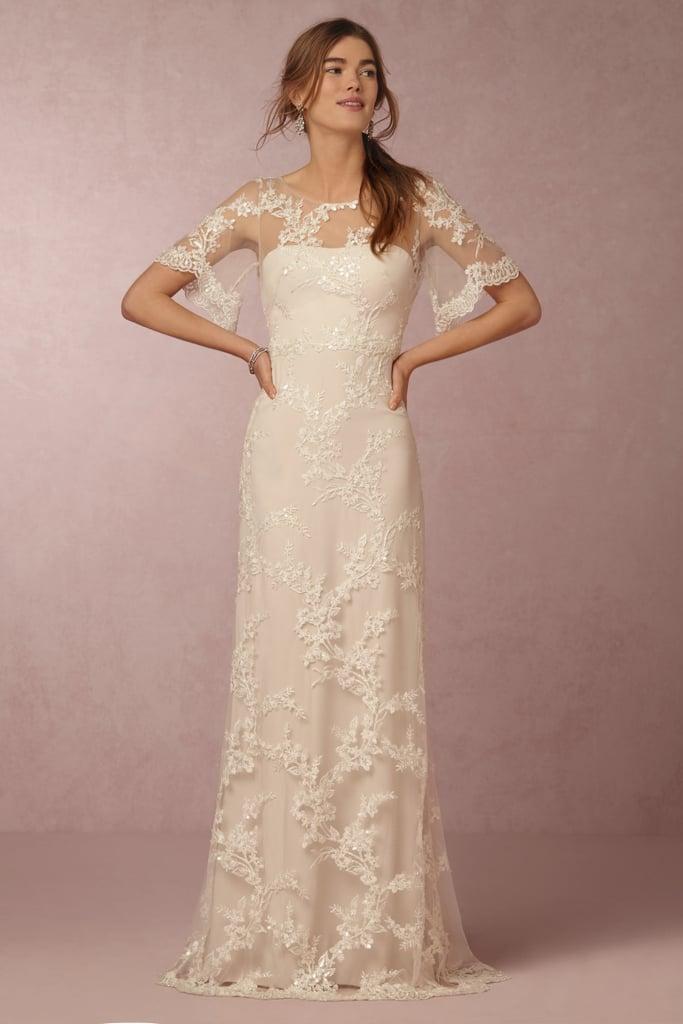 Estella Gown (£1,358) | BHLDN x Marchesa Wedding Dress Collaboration ...