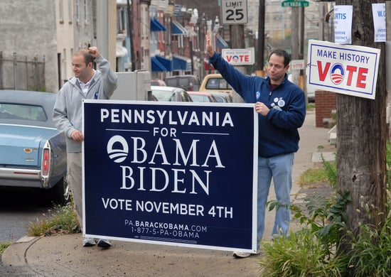 Barack Obama Takes Pennsylvania