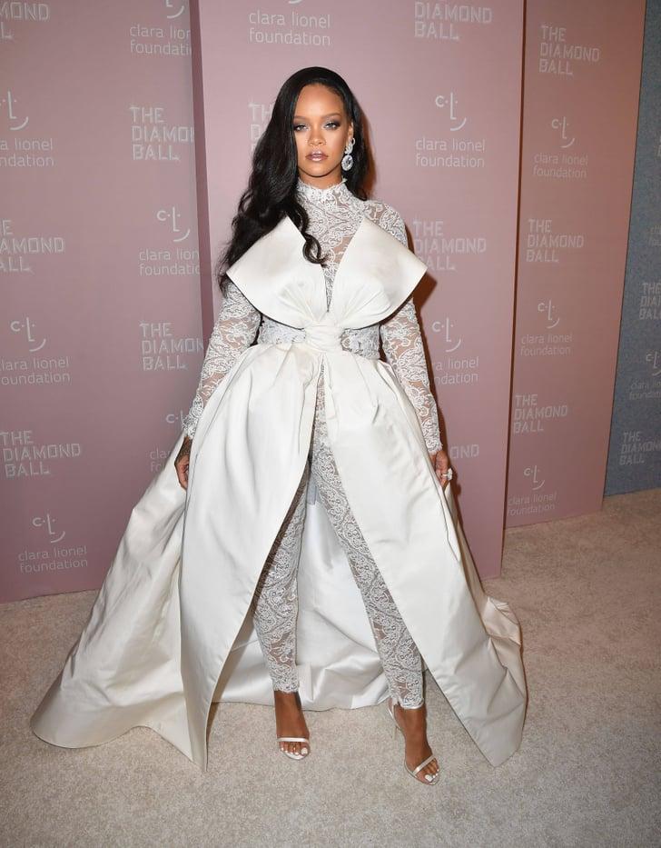 Rihanna S Diamond Ball Outfit 2018 Popsugar Fashion