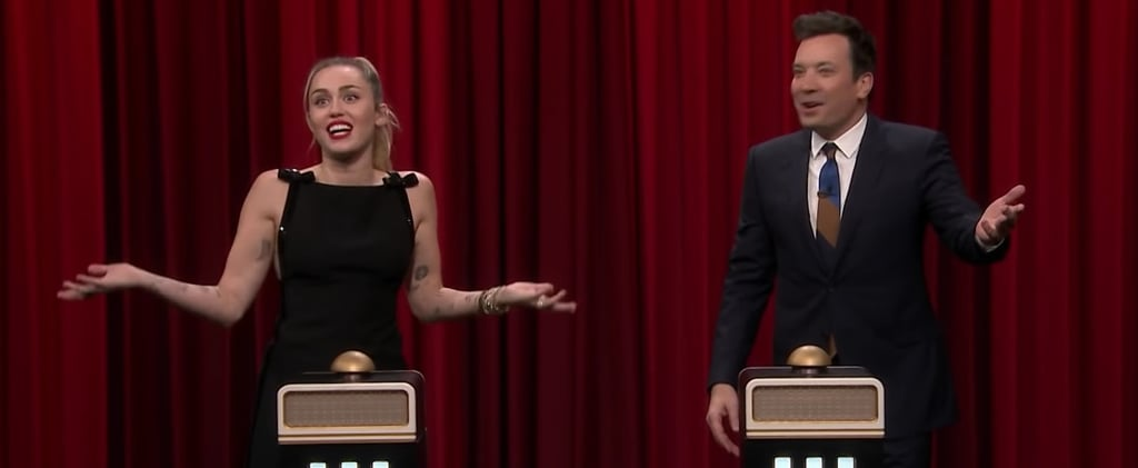 Miley Cyrus Name That Song Challenge on Fallon Video