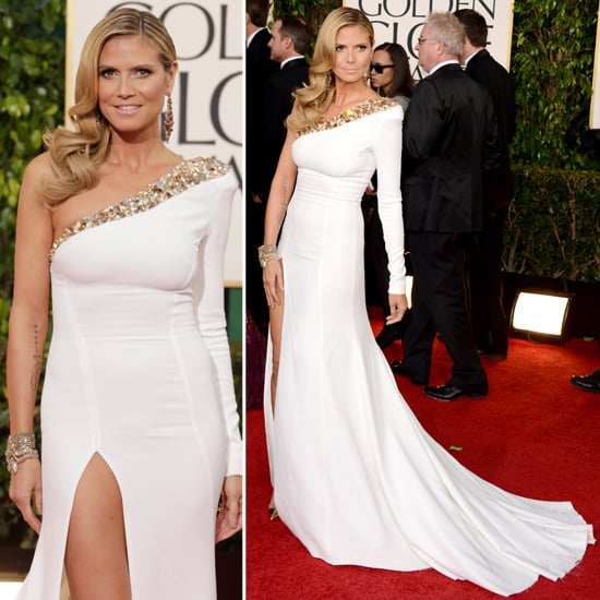 Heidi Klum | Golden Globes Red Carpet Fashion 2013