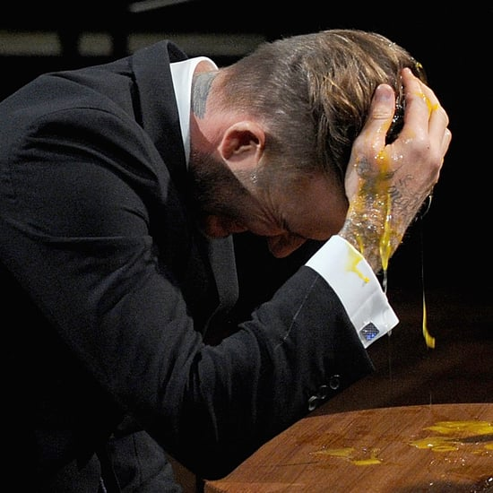 David Beckham Plays Egg Russian Roulette With Jimmy Fallon