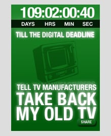 Website of the Day: Take Back My TV