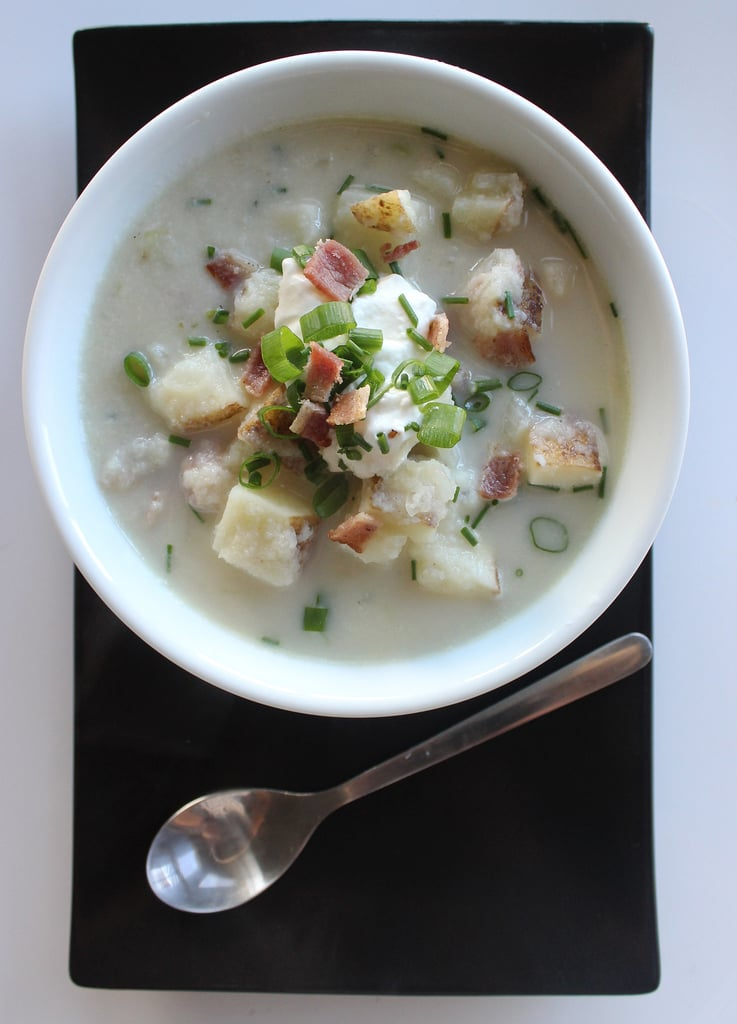 Low-Carb Loaded Baked Potato Soup