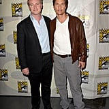 Matthew McConaughey and Christopher Nolan posed together on Thursday.