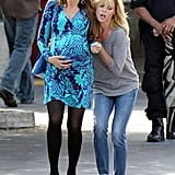 Sofia Vergara's Modern Family character, Gloria, went into labor on the set of the show.