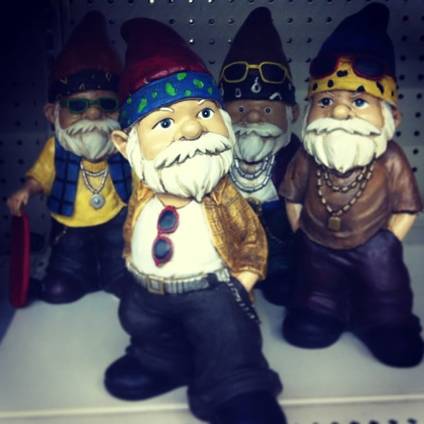 Don't Mess With These Gangsta Gnomes