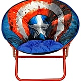 Marvel Captain America Adult Saucer Chair