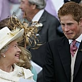 Queen Elizabeth and Prince Harry never miss an opportunity to joke around with each other.