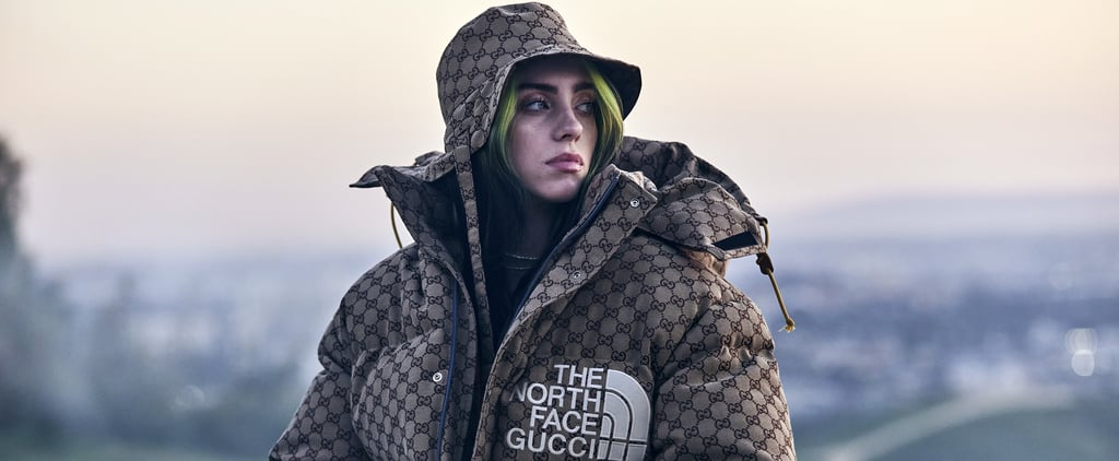 Billie Eilish's Gucci x The North Face Coat at Her Premiere