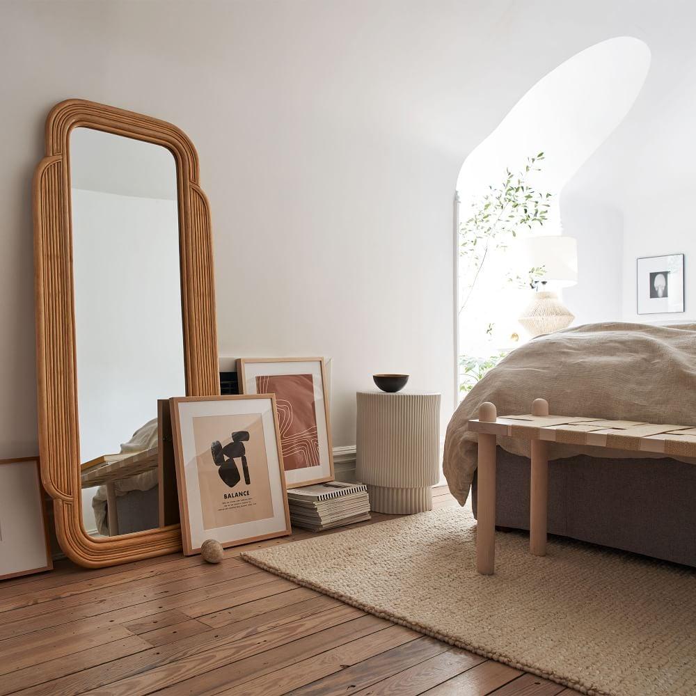 West Elm Desert Sun Floor Mirror