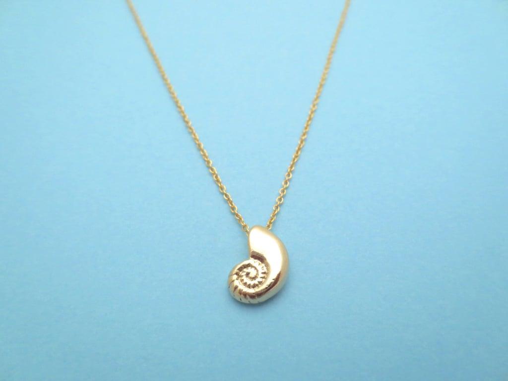Ariel's Voice Seashell Necklace